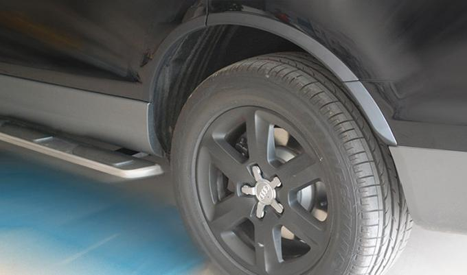 Audi 2010 Q7 Narrow Wheel Arch Flares Plastic Round Over