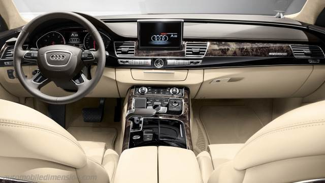 Audi A8 2014 Dimensions Boot Space And Interior