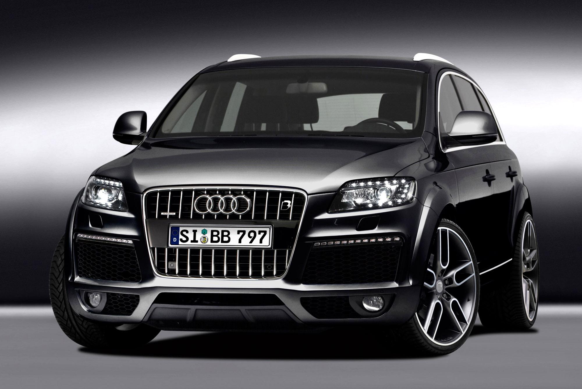 B Amp B Refines The New Audi Q7 Facelift