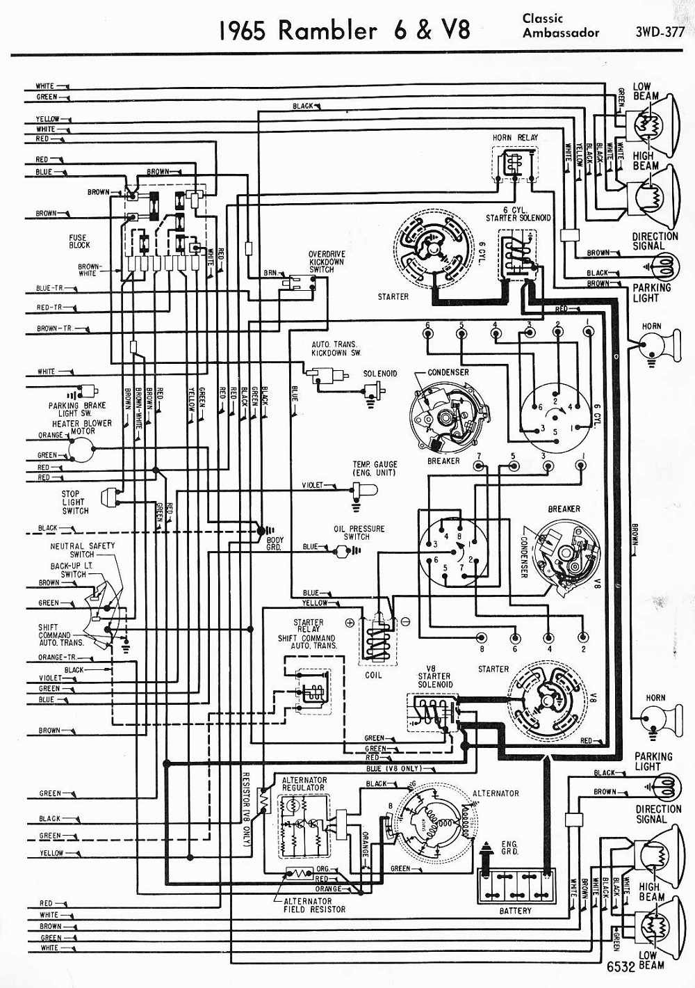 Holden V8 Alternator Wiring Diagram
