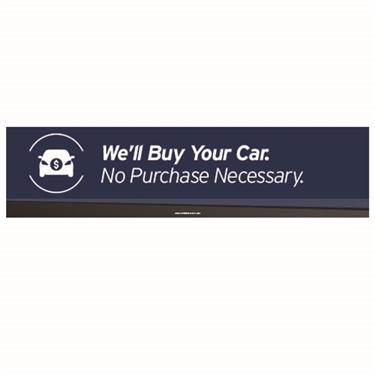 Sign Banner We Ll Buy Your Car Autonation