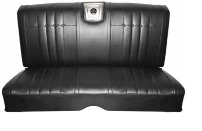 Seat Upholstery Imported 1965 Impala Seat Cover Rear