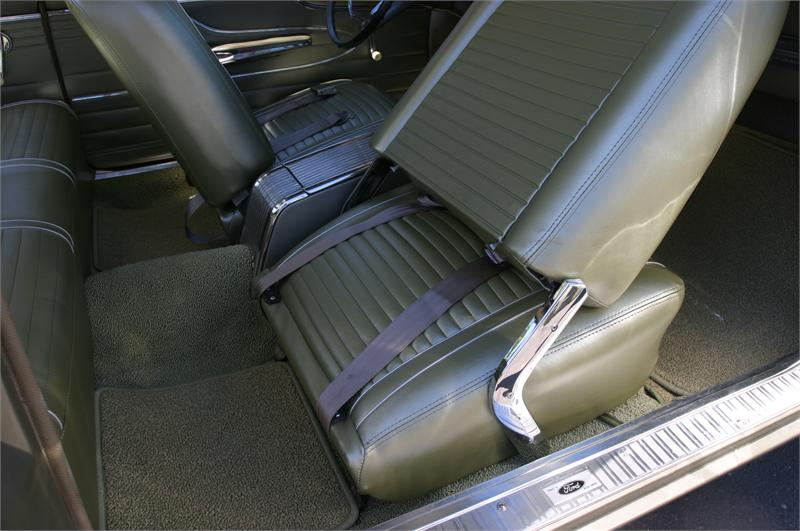 Seat Upholstery 1963 Falcon Futura Seat Cover Front