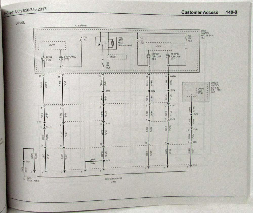 U Haul Trailer Wiring Installation Diagram