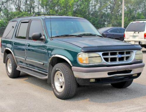 Ford Explorer Xlt 1996 Cheap Suv Under 1000 Miami Fl