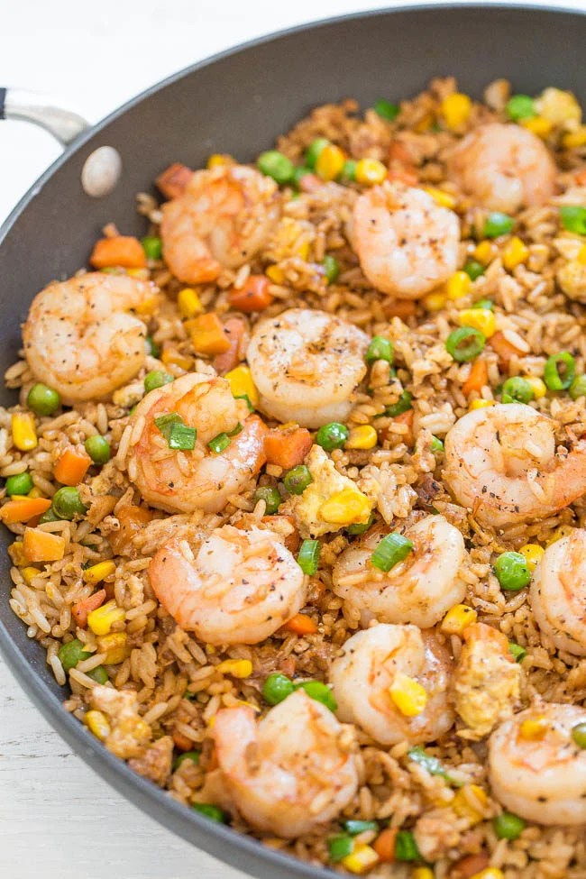 Easy Better Than Takeout Shrimp Fried Rice Averie Cooks