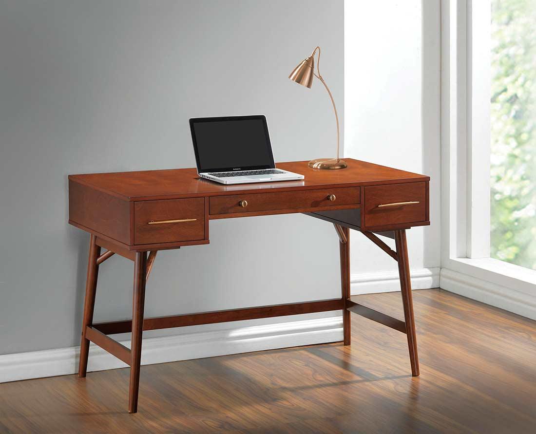 Walnut Wood Writing Desk Co 744 Executive