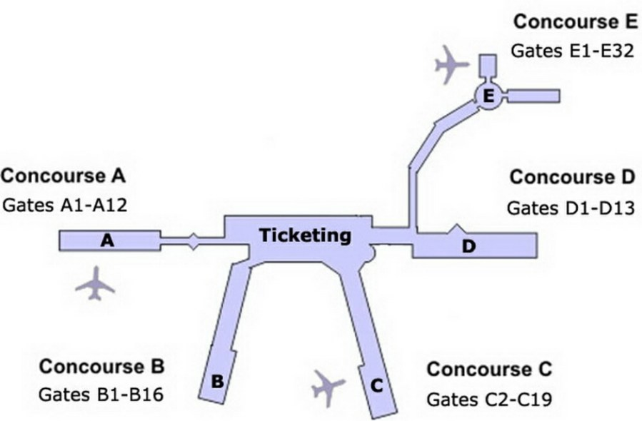Tagged Clt Airport Layout Plan