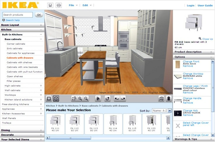 Free 3d Kitchen Planner
