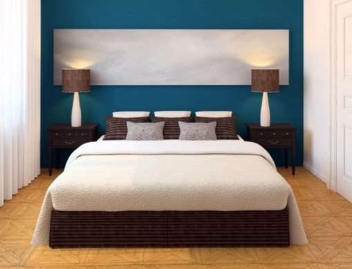 Select bedroom wall color and make a modern feel   Interior Design     Strong colors room Wandgestaltung   Select bedroom wall color and make a  modern feel