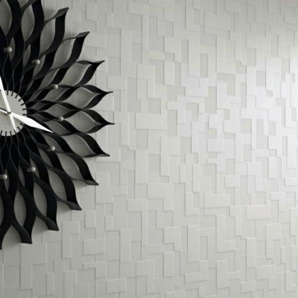 And Black Lamp Shades Checkered White