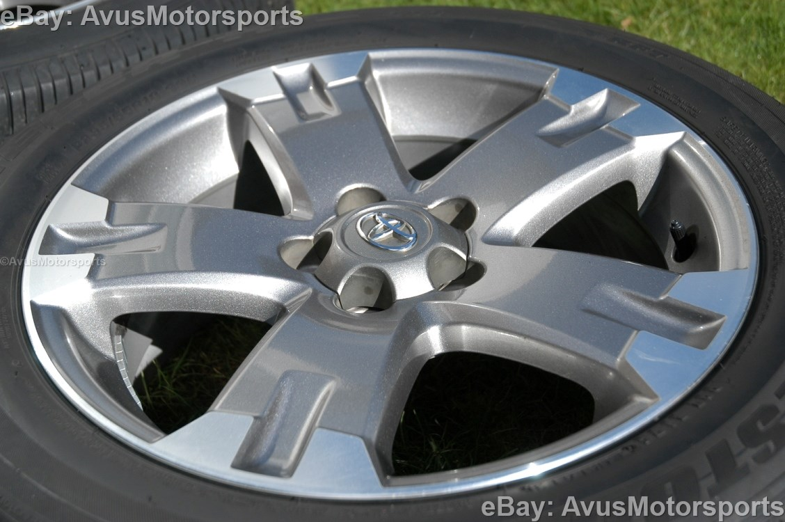 2012 Toyota Rav4 Oem 18 Quot Wheels Runflat Tires Tacoma Camry