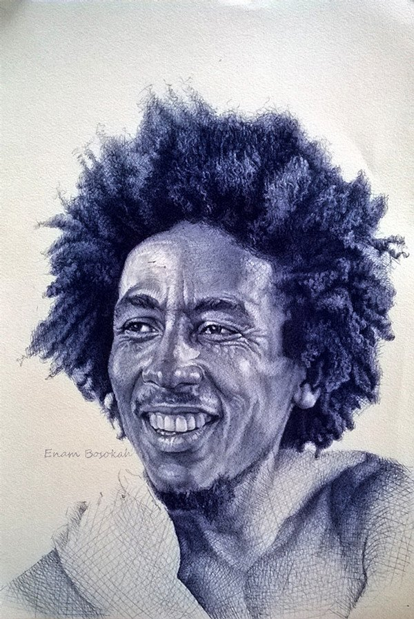 Hair Afro People Famous