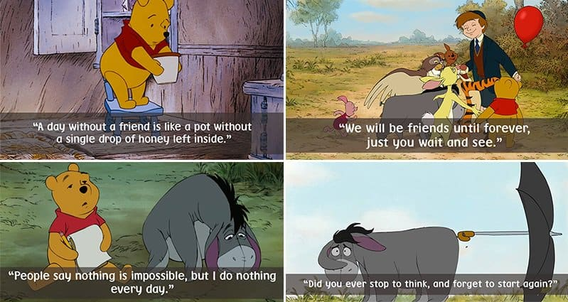 22 Of The Best  Winnie The Pooh  Quotes Paired With Adorable Images