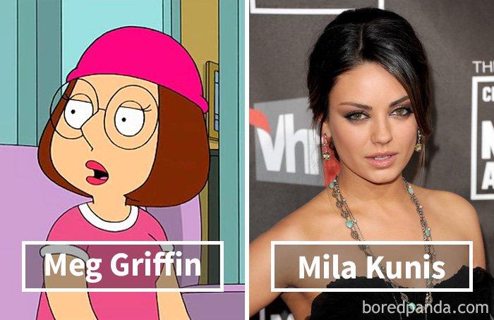 Mila Kunis Meg Voice S