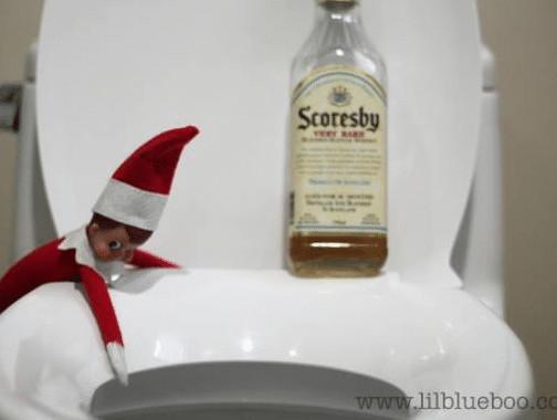 Elf on The Shelf alcohol