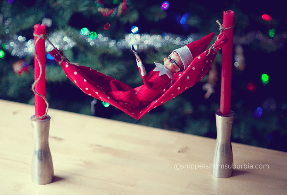 elf needs some downtime