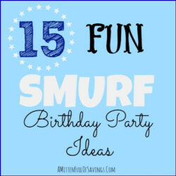 smurf themes, birthday ideas for smurf, smuf birthday ideas