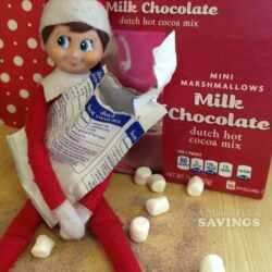 Let's make some hot chocolate with Elfie