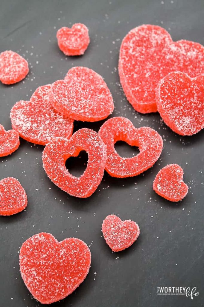 How to make Heart Shaped Gum Drops for Valentine's Day