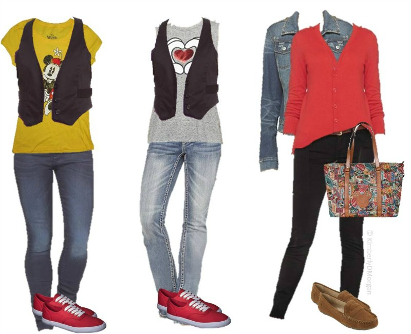 Going to Disney soon? Here's the perfect wardrobe that's easy and casual! 7 Days of Disney Fashion for Women