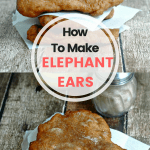 Here's an Easy recipe on how to make Elephant Ears! Get the love and smell of the ears from the county fair right in your own kitchen!