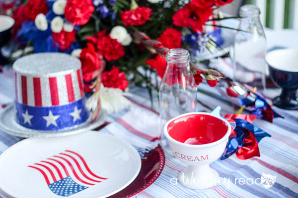 Red, White & Blue Outdoor Party Theme-2