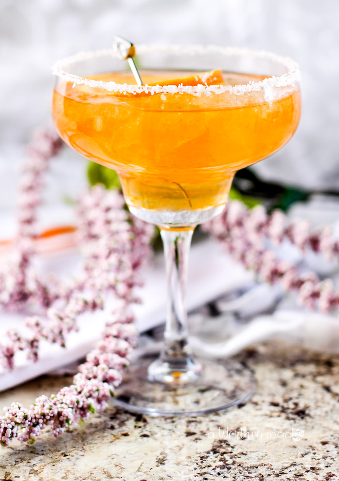 Sweet Orange Tequila Cocktail