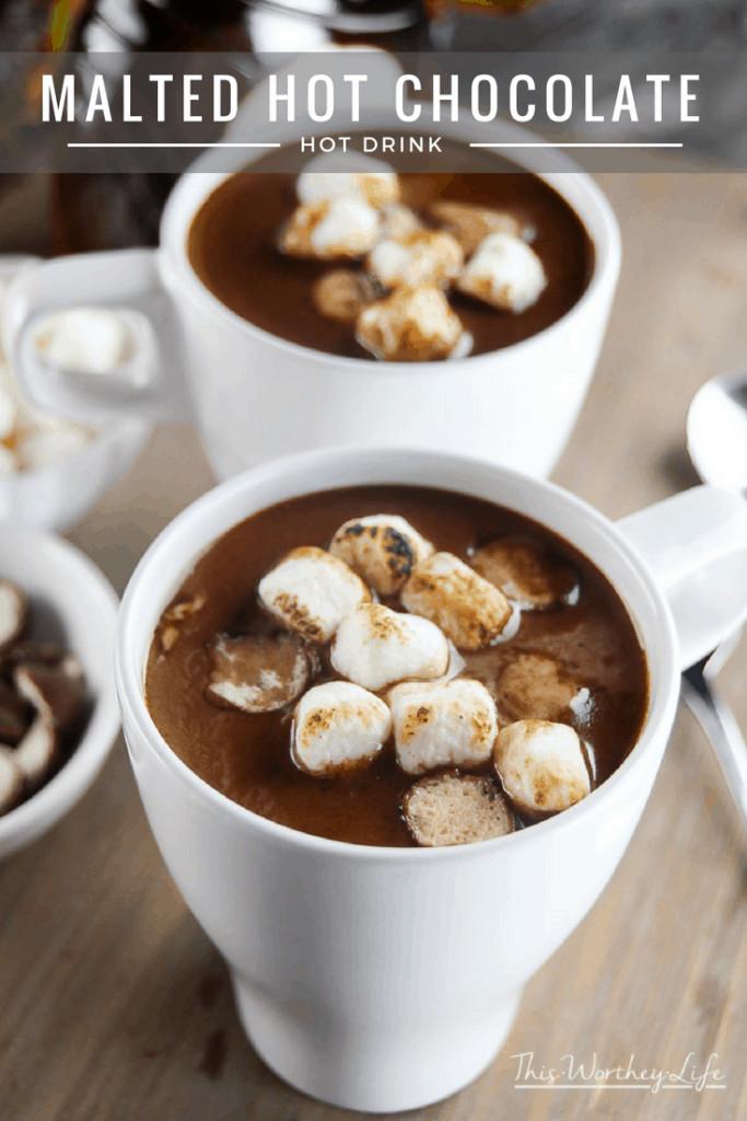 Hot Chocolate Recipe - Malted Hot Chocolate