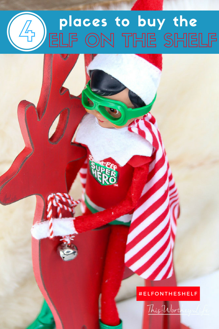 Every year, we have people asking Where to Buy Elf on the Shelf. This always popular holiday tradition is so much fun that everyone wants to join in for the game! As we approach the holiday season and time to prepare, I thought I would answer this question and give you some great tips for making the Elf on the Shelf tradition, even more, fun for your family.