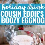 Boozy Eggnog Drink