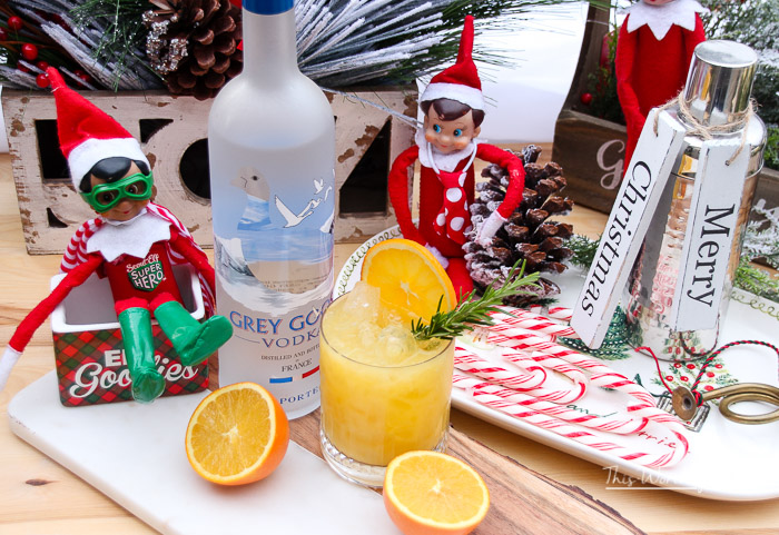 5 Cocktails using the Kid's Juice - Elf on the Shelf