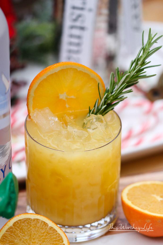 Orange Juice & Honey Screwdriver