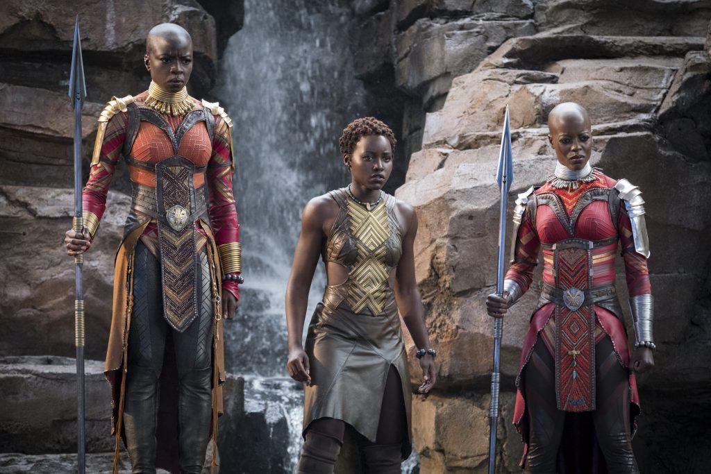 Black Women in Black Panther Movie
