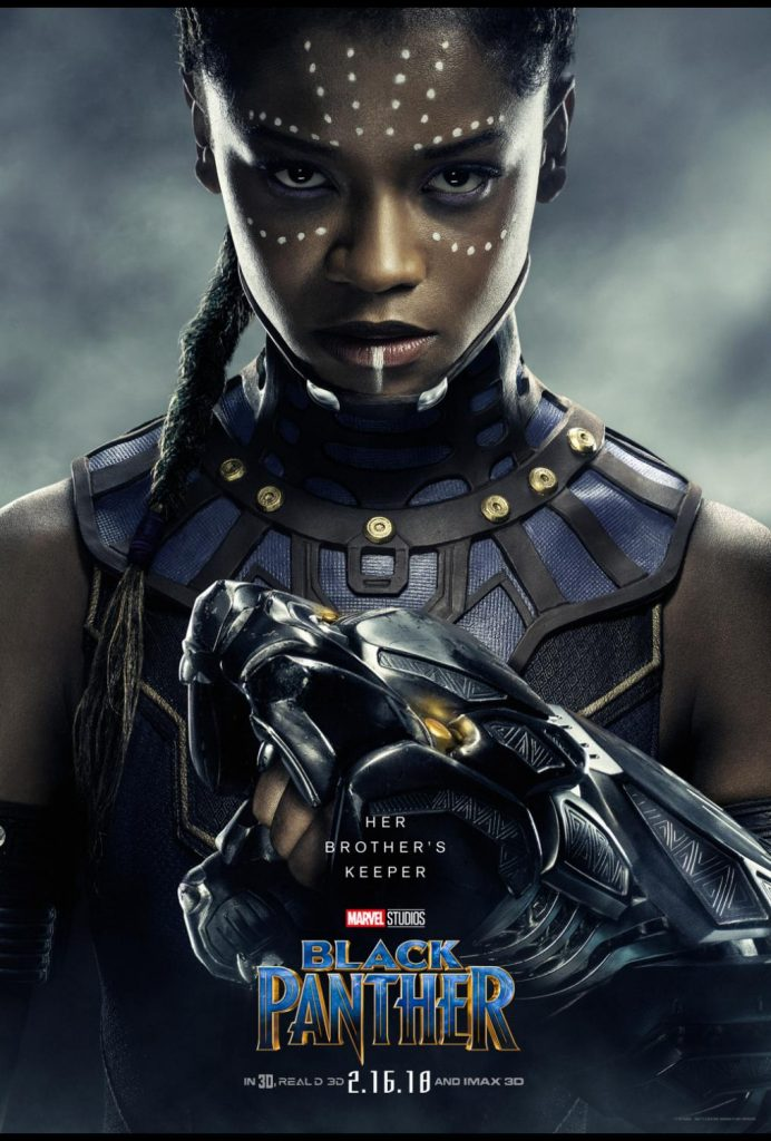 BlackPanther Letitia Wright