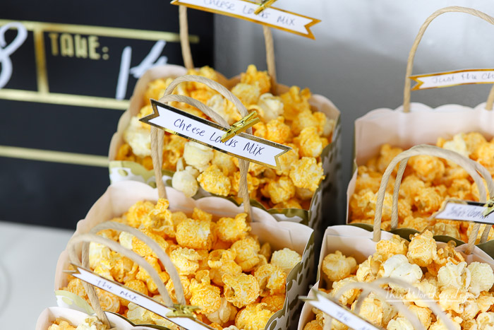 Creative ways to serve popcorn
