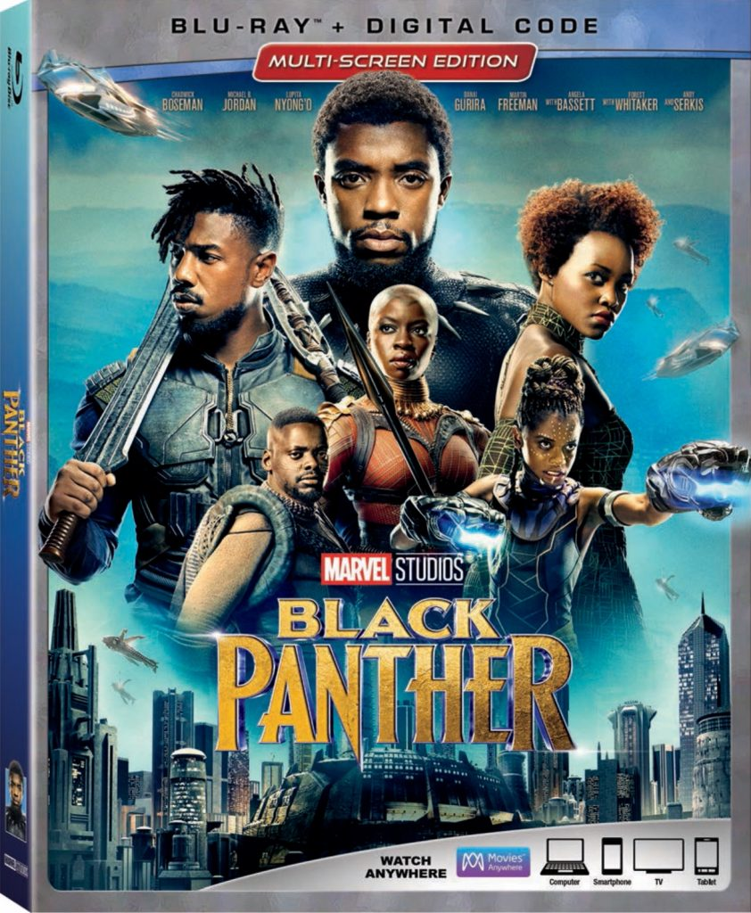 When does Black Panther come out on DVD