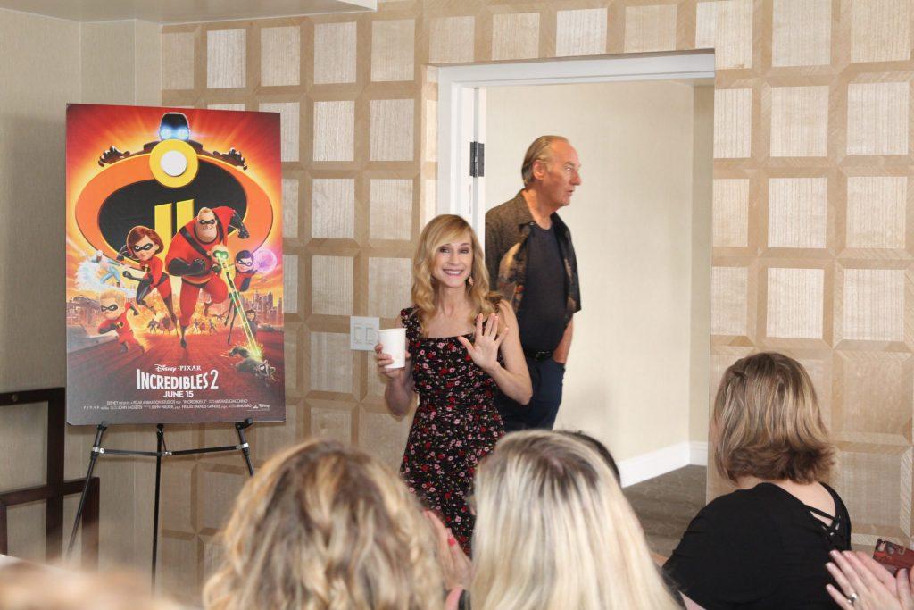Holly Hunter as Elastigirl in Incredibles movie