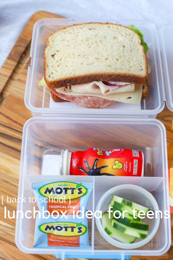 lunchbox ideas for teens