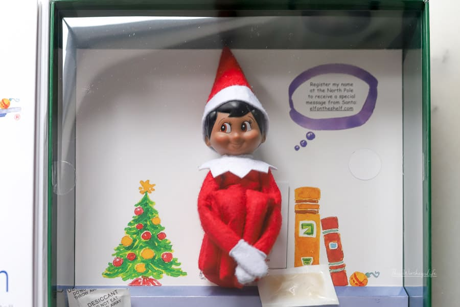 Where can I find a black Elf on the Shelf doll?