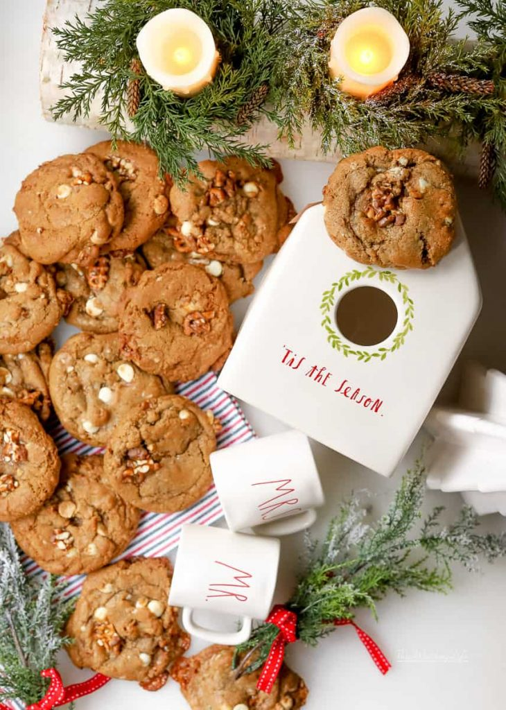 The Best Pretzel Cookies