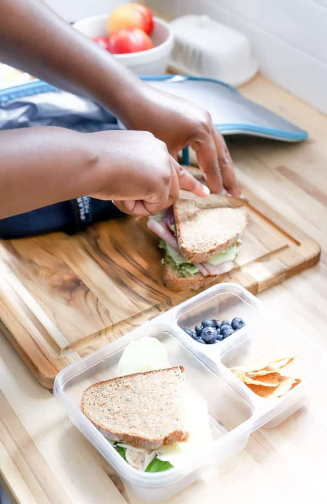 Whole Wheat Salami & Turkey Sandwich
