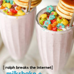 Looking for a Milkshake + Pancakes recipe based on Disney's Ralph Breaks the Internet movie? I'm sharing a super easy one you can make down below, plus the digital copy of this movie is now available, with the DVD copy coming out on February 26th.