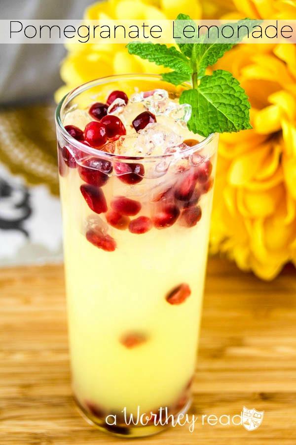 Pomegranate Lemonade