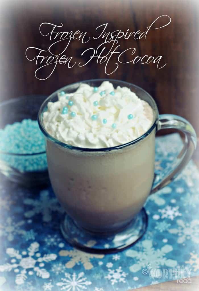Disney's Frozen hot cocoa copycat