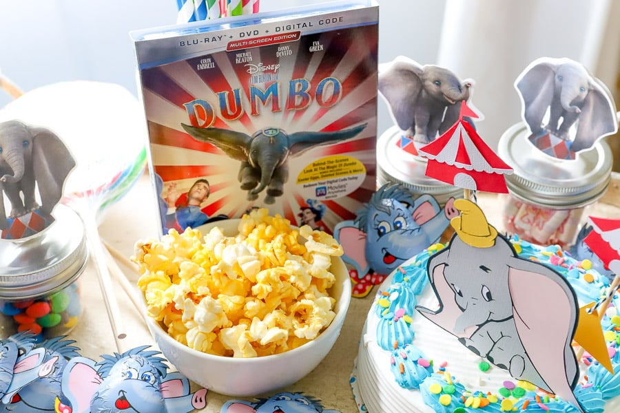 Dumbo watching party