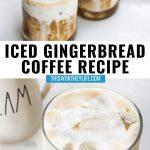 Iced Coffee recipe using Gingerbread