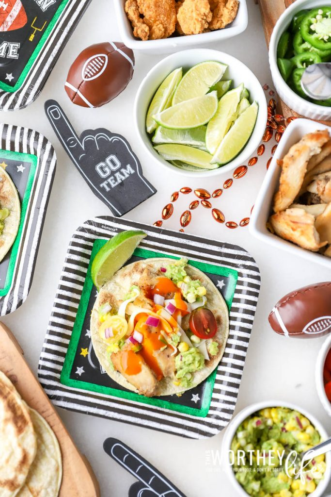 Taco Recipes for a game day party
