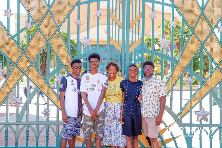 Disney Black Families
