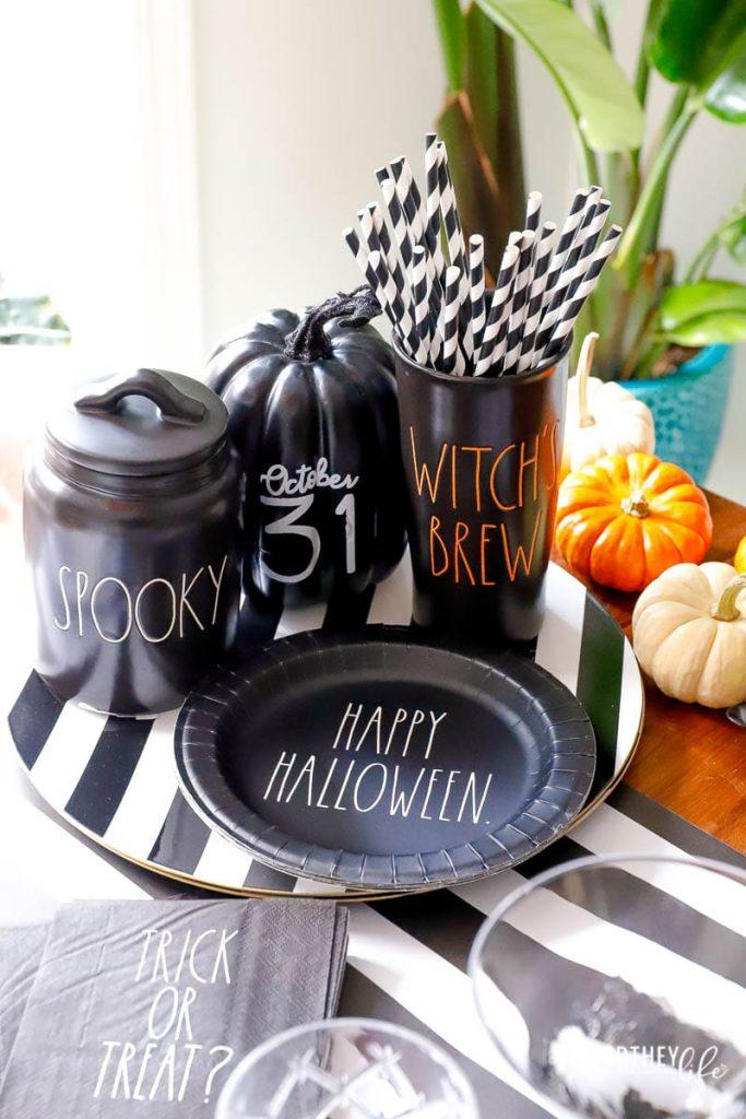 Rae Dunn Halloween Canisters